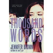Thousand Words (English Edition)