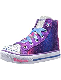 Twinkle Toes By Skechers S Lights Shuffles Magic Madness Turnschuhe