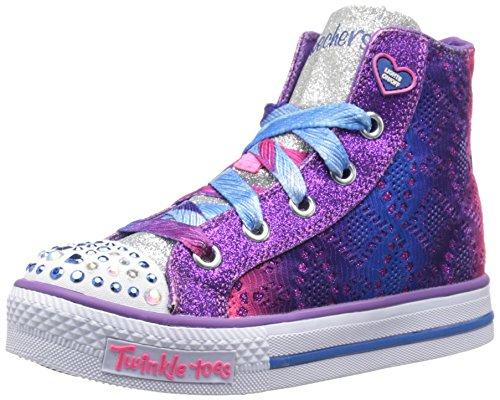 Skechers Shuffles Doily Dance Toile Baskets Purple-Multi