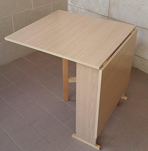 Frams tavolo susanna a consolle richiudibile rovere