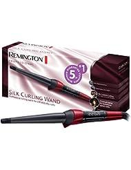 Remington Fer à Boucler, Boucleur Conique Protéine de Soie Céramique Haute Qualité, Cheveux Brillants, Sans Frisottis - CI96W1