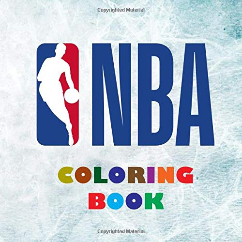 NBA Coloring Book: Super book containing every team logo from the NBA for you to color in - Original birthday present / gift idea. por Johnnie Walker