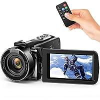 Videocamera Andoer videocamere digitale full HD 16X Zoom digitale schermo LCD 3.0 24MP Visione notturna Scarpa calda