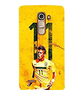 Fiobs Designer Phone Back Case Cover LG G4 Mini :: LG G4c :: LG G4c H525N ( Football Fan Art Love For Game 11 )