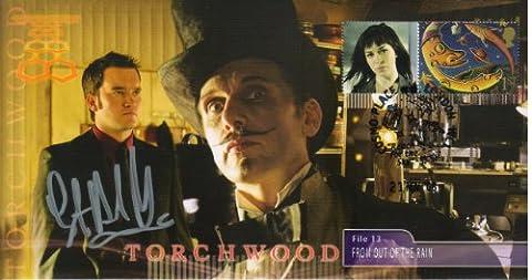 Torchwood «k» sammelbare cachet cover-personne ianto gARETH dAVID lLOYD signé sous collecteurs très