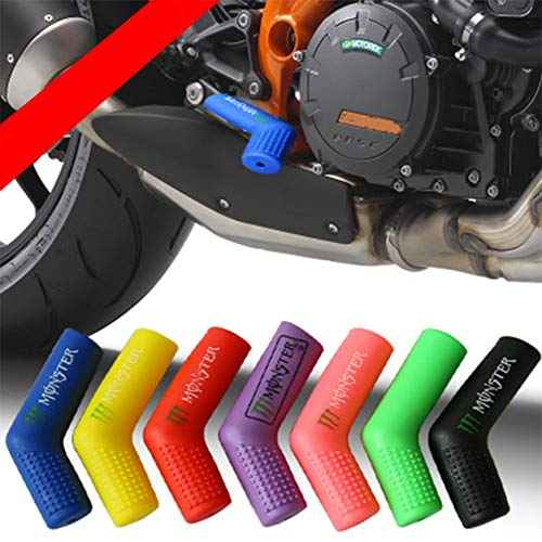 DishyKooker - Protezione per Scarpe, in Silicone, per Moto da Cross, Colore Casu