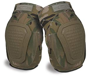 Damascus DNKPM Imperial Neoprene Knee Pads with Reinforced Non-slip Trion-X Caps, Multi-Cam Camo by Damascus Protective Gear