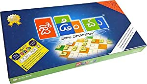 Out Box Edutainment jodinchu+tvaragaa jodinchu combo - Ultimate Telugu crossword building game, fast & exciting word games, and awesome Telugu teaching/learning tools.