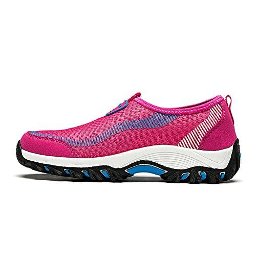 SITAILE Unisex Laufschuhe Outdoor Sport Freizeit Fitness Sneaker Schuhe Walkingschuhe Damen Rosa
