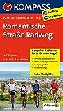 Romantische Straße Radweg: Fahrrad-Tourenkarte. GPS-genau. 1:50000. (KOMPASS-Fahrrad-Tourenkarten, Band 7026) -