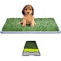Litière chien herbe synthétique Gazon Synthétique Tapis absorbant anti-odeurs