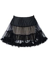 "Boolavard® TM 18"" 50s Retro Underskirt Swing Vintage Mini Petticoat Fancy Net Skirt Rockabilly Tutu"