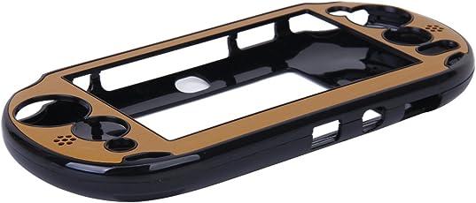 Imported Aluminum Protective Hard Case Cover for Sony VITA2000 PS VITA2000 - Golden