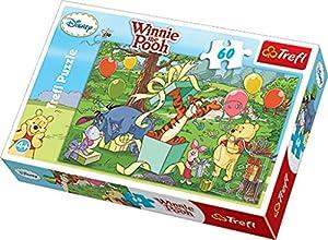 TREFL 17210 Puzzle - Rompecabezas (Puzzle Rompecabezas, Dibujos, Niños, Winnie The Pooh, Niño/niña, 4 año(s))
