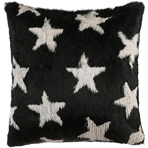 Ysting Stella modello reale della pelliccia del coniglio divano federa pelliccia o un'immagine (Knit Poncho Modello)