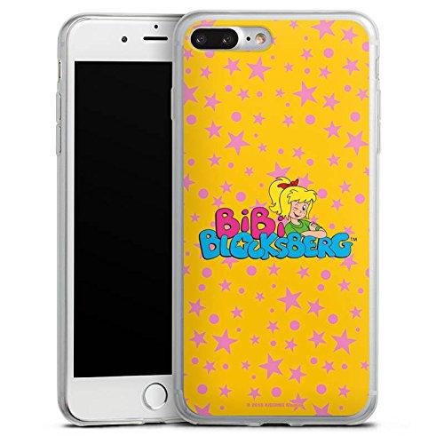 Apple iPhone X Slim Case Silikon Hülle Schutzhülle Bibi Blocksberg Fanartikel Merchandise Bibi Blocksberg - Logo Silikon Slim Case transparent