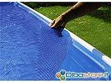 Newplast–Abdeckung Schwimmende Kühltasche für Pool 460x 120Caribe, Antigua, Woodline,