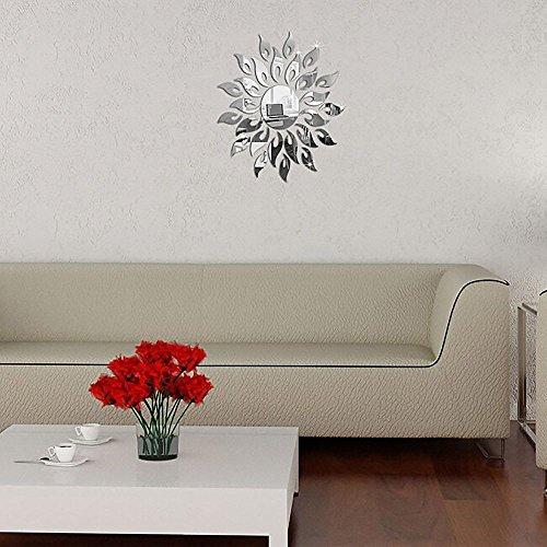 MMRMSunStil SpiegelKristallwandaufkleberabnehmbarenWandmalereienschmücken dieZimmerein modernesBadezimmer