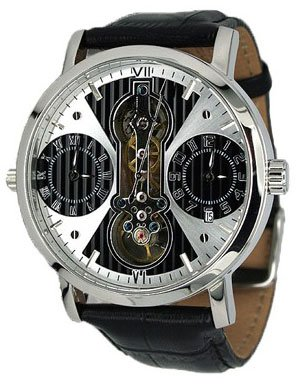 Aeromatic 1912 - Reloj de cuarzo negro