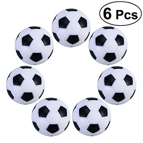 NUOLUX Tischfußball Kugeln Mini Ball 6PCS 32mm