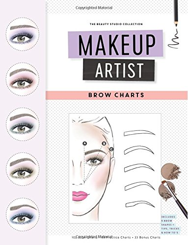 Makeup Artist Brow Charts (The Beauty Studio Collection, Band 4) -