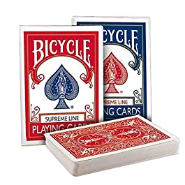Bicycle – Supreme Line Set – Blue Back and Red Back