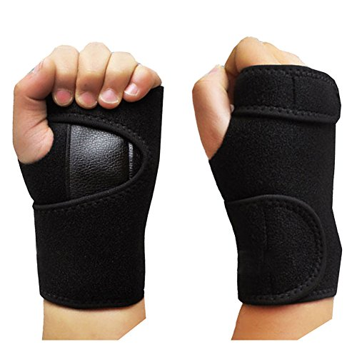 51W9 fkNNPL - Beauty*Top*Picks Sports Goods Wrist Support Carpal Tunnel Splint Arthritis Sprains Strain Hand Brace Band (A pair) Reviews and price compare uk
