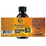 Premium Nature Vitamin B3 Gesichts-Serum Niacinamid 5 % - 1 Unze Feuchtigkeitsspendende Gesicht Creme Pore Spanner Falten Reducer & Collagen Booster Anti-Aging