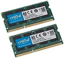 Crucial MAC K2 Memoria SO D3 1066, 8GB C7, Nero