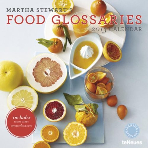 martha-stewarts-food-glossaries-2013-calendar