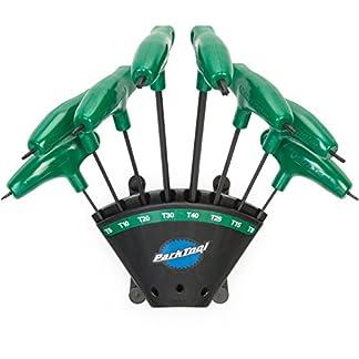 ParkTool PH-T1.2 – Juego de Destornilladores Torx compatibles con Llaves de Vaso (tamaño T6, tamaño T8, tamaño T10, tamaño T15, T20, T25, T30, T40)