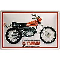 Yamaha 250 Moto Kult Bike Retro 20 x 30 cm Cartel ...