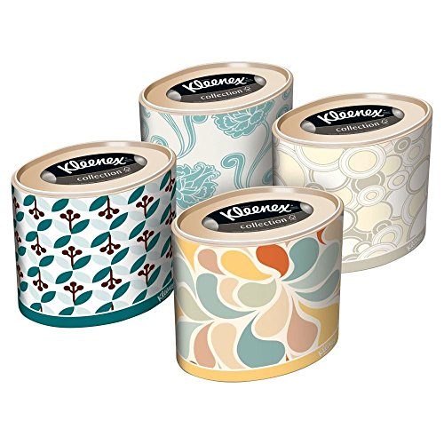 Kleenex Oval Expressions Facial Tissue (64) - Pack of 2