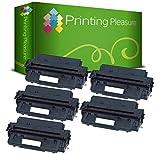 Printing Pleasure 5 Toner kompatibel zu C4096A EP-32 für HP Laserjet 2100 2100M 2100SE 2100TN 2200 2200D 2200DN 2200DSE 2200DT 2200DTN 2200N Canon LBP-470 LBP-1000 LBP-1310 - Schwarz, hohe Kapazität