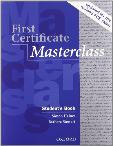 First certificate masterclass. Student's book-Workbook. Without key. Per le Scuole superiori. Con Multi-ROM
