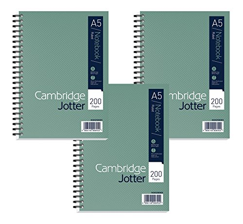 Cambridge Jotter A5 Card Cover W...