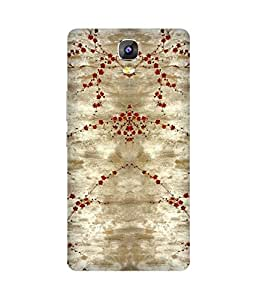 Red Flowers Gionee Marathon M5 Printed Back Cover