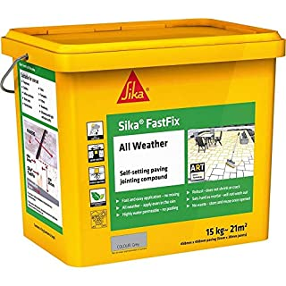 FastFix Jointing Compound | All Weather Paving | Sika Pave Fix | 2 Colours (Grey)