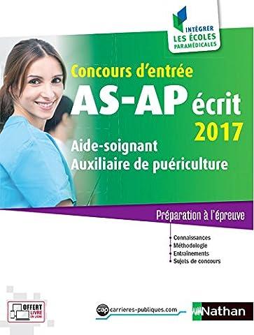 Concours AS-AP écrit