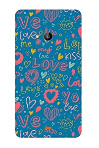 ZAPCASE PRINTED BACK COVER FOR Nokia Lumia 535