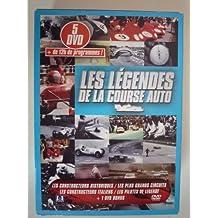 Les légendes de la course automobile - Coffret 4 DVD