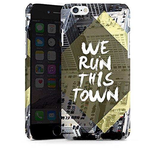 Apple iPhone X Silikon Hülle Case Schutzhülle Stadt Sprüche Statements Premium Case matt