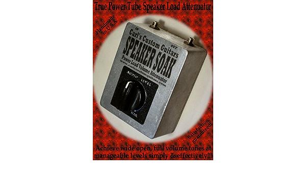 Carl/'s Custom Guitars Lautsprecher SOAK Strom Tube Amp Verstärker Dämpfer //
