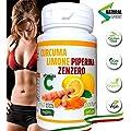 CURCUMA+PIPERINA+ZENZERO+VITAMINA C | 130 Cpr Naturali di…