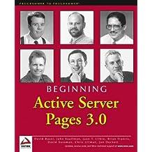 Beginning ASP 3.0 (Programmer to Programmer)