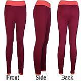 Fitdoo Yoga Pantalon Sport Pantalon Legging Beau style pour Femme Rot L par DHL