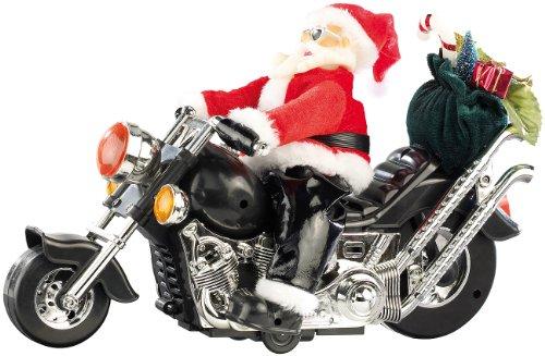 infactory Santa Bike - Weihnachtsmann auf Motorrad