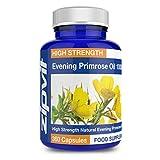 Nachtkerzenöl 1000 mg - 360 Kapseln GLA 90 mg | 12-Monats-Vorrat - Hergestellt in England