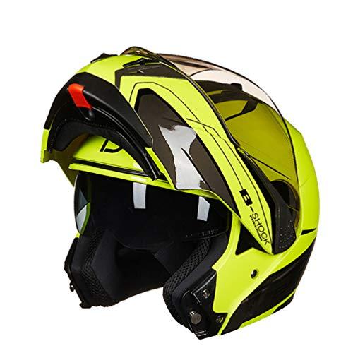 Qianliuk casco moto flip up doppio visiera racing motos casco full air system per uomini e donne