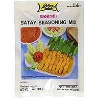 Lobo Spice Paste Satay Sauce - Paquete de 12 x 100 gr - Total: 1200 gr